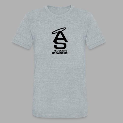 AS Logo Black - Unisex Tri-Blend T-Shirt