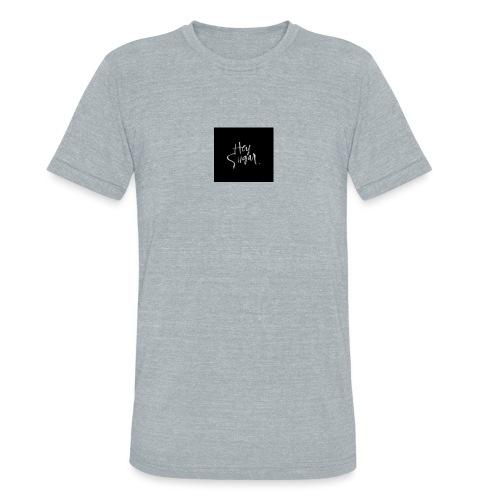 Hey Sügar. By Alüong Mangar - Unisex Tri-Blend T-Shirt