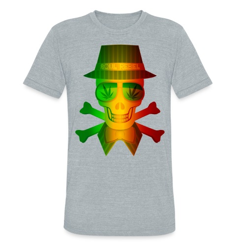 Rasta Man Rebel - Unisex Tri-Blend T-Shirt