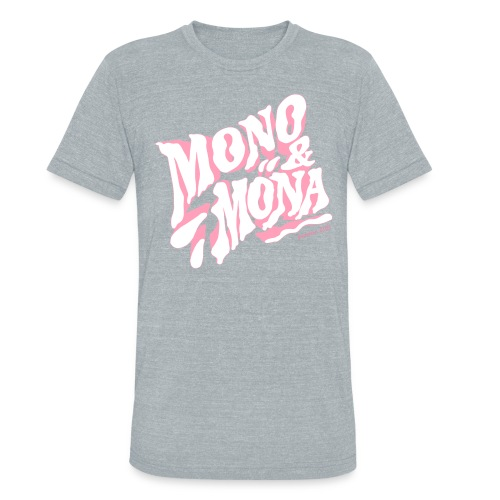 mono y mona - Unisex Tri-Blend T-Shirt
