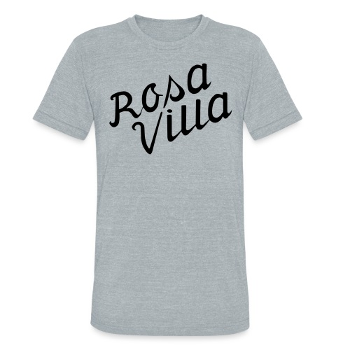 rosa villa - Unisex Tri-Blend T-Shirt