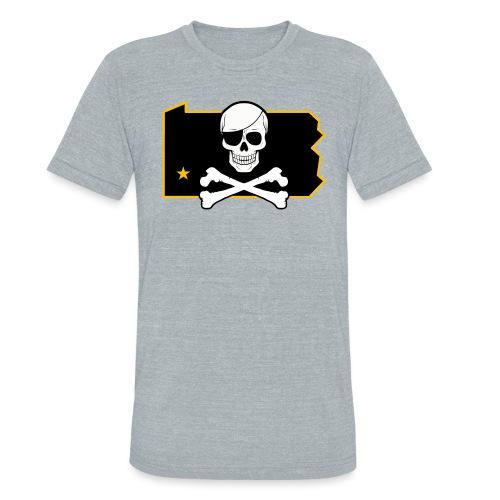 Bones PA (Sticker) - Unisex Tri-Blend T-Shirt