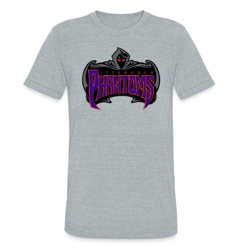 Pittsburgh Phantoms (Roller Hockey) - Unisex Tri-Blend T-Shirt