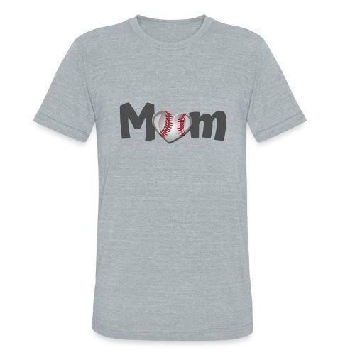 Baseball Mom - Unisex Tri-Blend T-Shirt