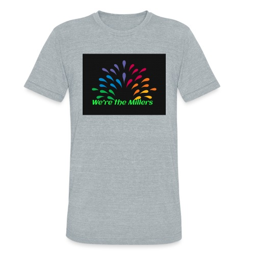 We're the Millers logo 1 - Unisex Tri-Blend T-Shirt