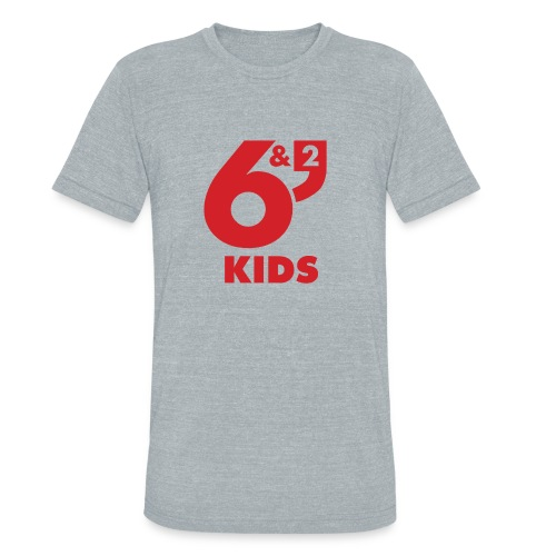 6et2 logo v2 kids 01 - Unisex Tri-Blend T-Shirt