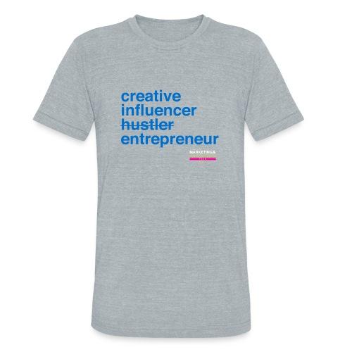 Marketing & Millennial Tee - Unisex Tri-Blend T-Shirt