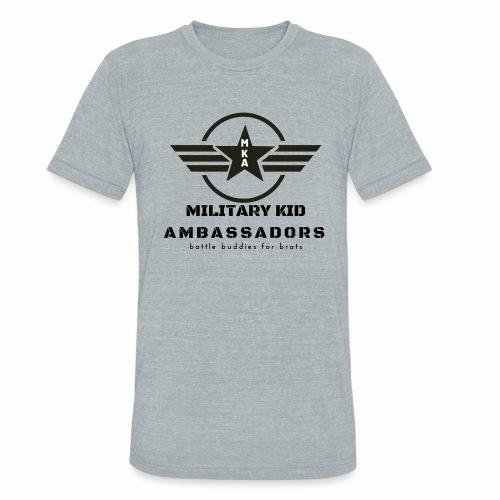 Military Kid Ambassador - Unisex Tri-Blend T-Shirt