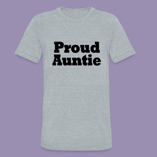 Proud Auntie - Unisex Tri-Blend T-Shirt