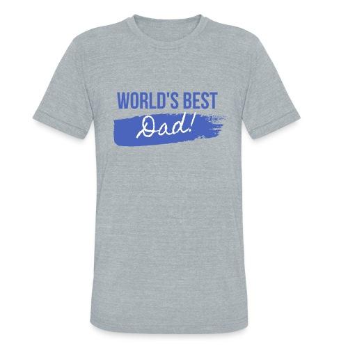 Father's Day T Shirt - Unisex Tri-Blend T-Shirt