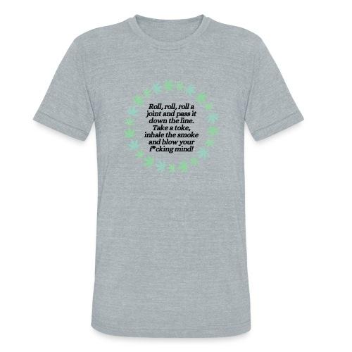 Roll On - Unisex Tri-Blend T-Shirt