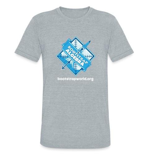 Bootstrap:Algebra T-shirt - Unisex Tri-Blend T-Shirt