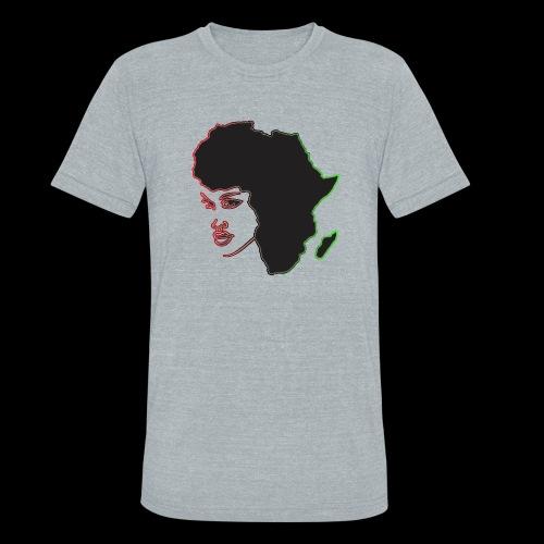 Afrika is Woman - Unisex Tri-Blend T-Shirt
