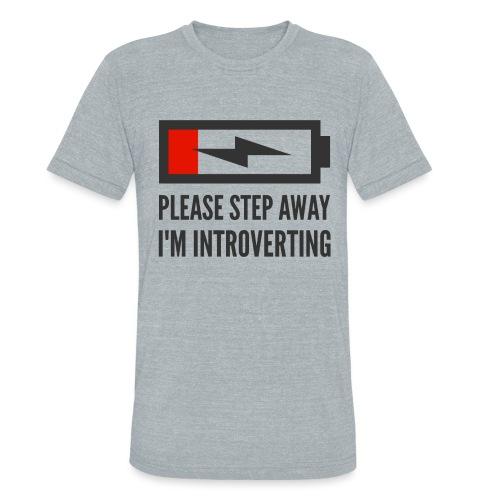 introverting - Unisex Tri-Blend T-Shirt