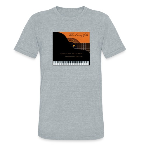 When Evening Falls CD Cover - Unisex Tri-Blend T-Shirt