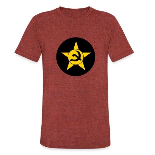 Soviet Union Symbol (dark) - Axis & Allies - Unisex Tri-Blend T-Shirt