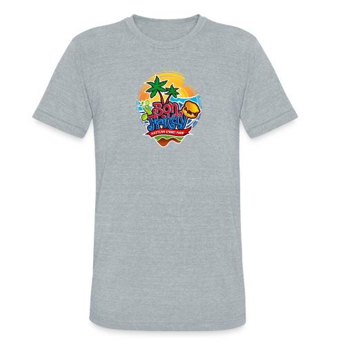 Bon Fritay Logo - Unisex Tri-Blend T-Shirt
