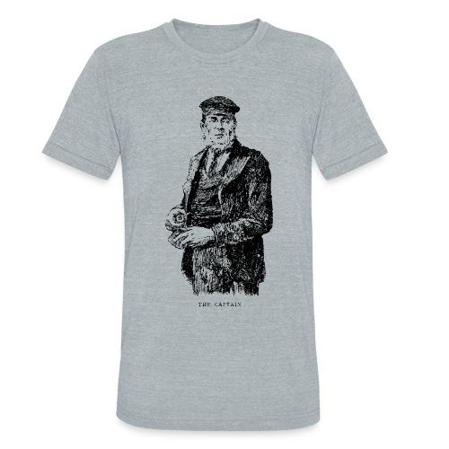 the captain - Unisex Tri-Blend T-Shirt