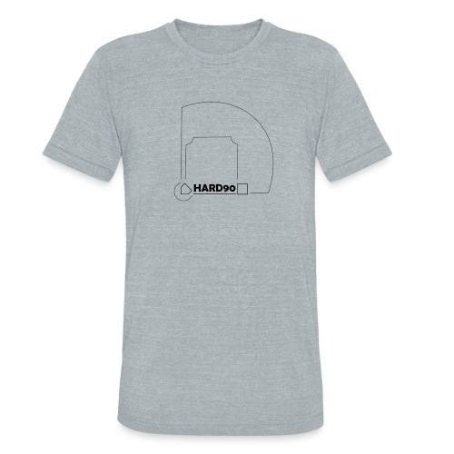Hard 90 field - Unisex Tri-Blend T-Shirt