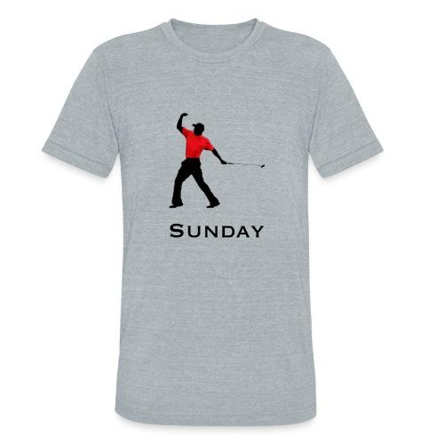 Sunday Red - Unisex Tri-Blend T-Shirt