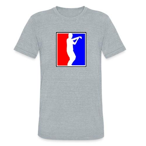 Tai Chi Sports Logo black outline - Unisex Tri-Blend T-Shirt