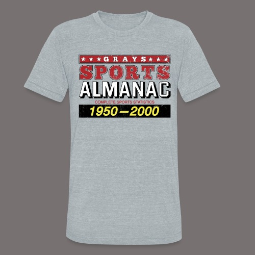 Grays Sports Almanac - Unisex Tri-Blend T-Shirt