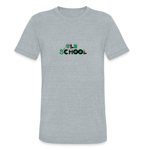 Old School Music - Unisex Tri-Blend T-Shirt