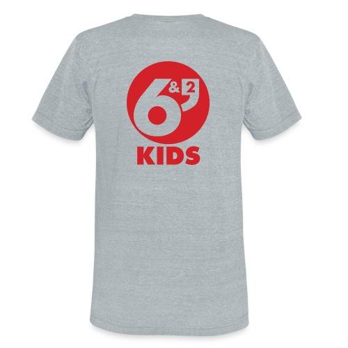 6et2 logo v2 kids 02 - Unisex Tri-Blend T-Shirt