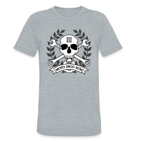 Moto Ergo Sum - Unisex Tri-Blend T-Shirt