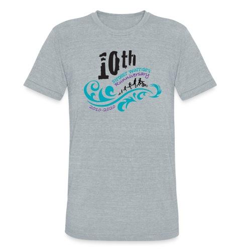 10th Anniversary Logo Color - Unisex Tri-Blend T-Shirt