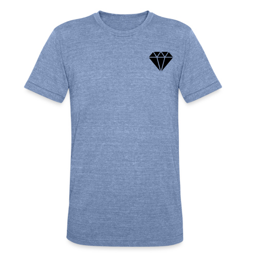 Basic Diamond Tee - Unisex Tri-Blend T-Shirt