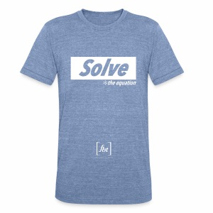Solve the Equation [fbt] - Unisex Tri-Blend T-Shirt by American Apparel