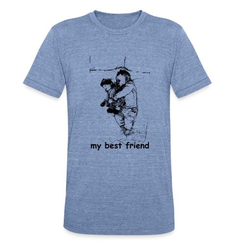 My Best Friend (baby) - Unisex Tri-Blend T-Shirt