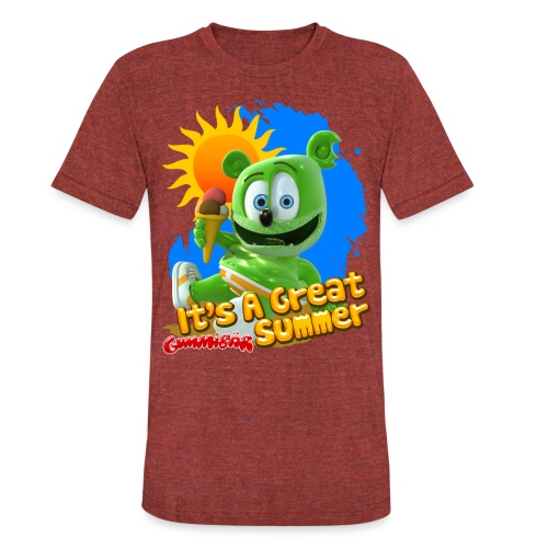 It's A Great Summer - Unisex Tri-Blend T-Shirt