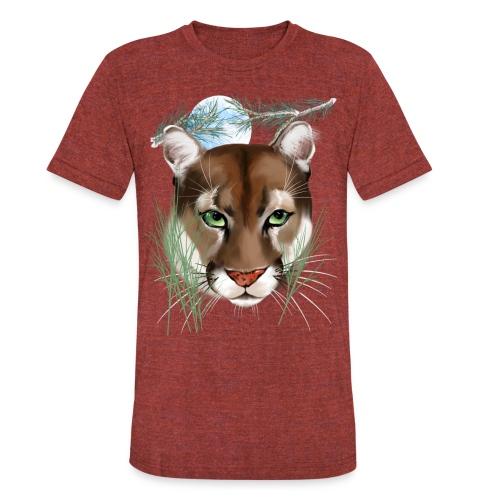 Midnight Puma - Unisex Tri-Blend T-Shirt