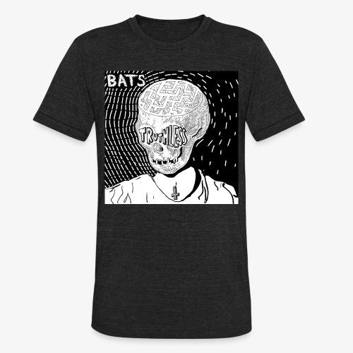 BATS TRUTHLESS DESIGN BY HAMZART - Unisex Tri-Blend T-Shirt