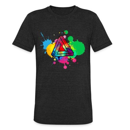 PAINT SPLASH - Unisex Tri-Blend T-Shirt
