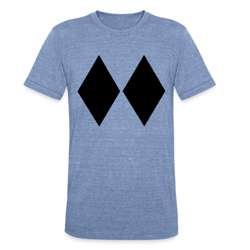 Double Black Diamond - Unisex Tri-Blend T-Shirt