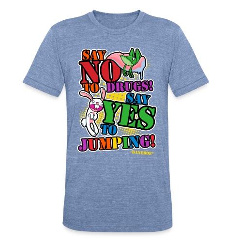 11 dnbo jumping3 - Unisex Tri-Blend T-Shirt