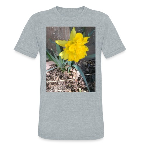 YELLOWFLOWER by S.J.Photography - Unisex Tri-Blend T-Shirt