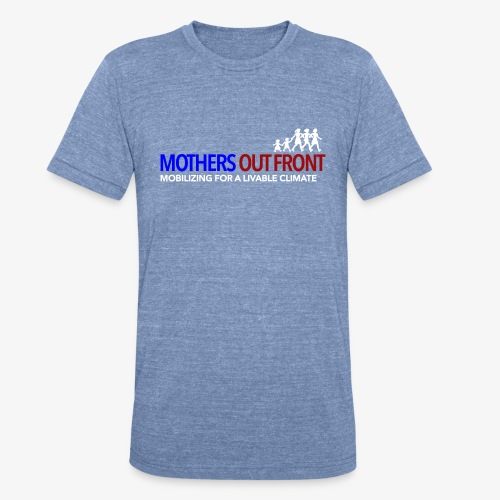 Mothers Out Front Logo - Unisex Tri-Blend T-Shirt