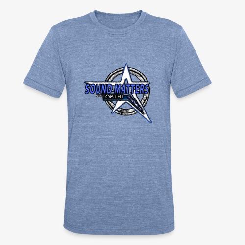 SOUND MATTERS Badge - Unisex Tri-Blend T-Shirt