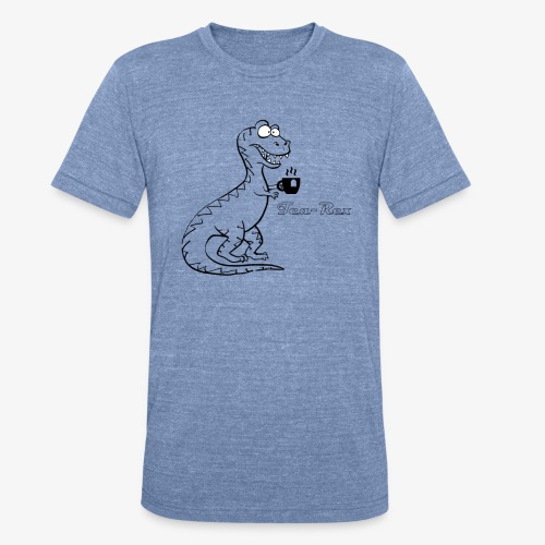 TEA-REX - Unisex Tri-Blend T-Shirt