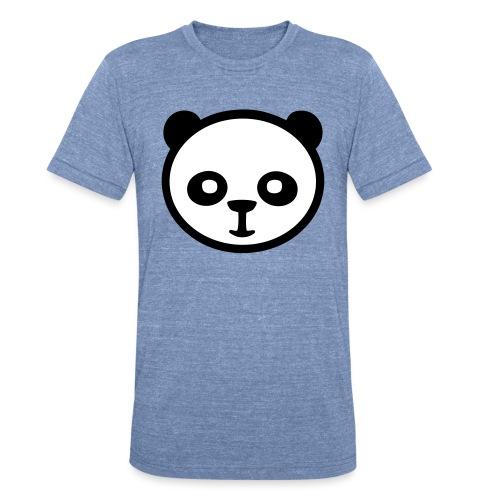Panda bear, Big panda, Giant panda, Bamboo bear - Unisex Tri-Blend T-Shirt
