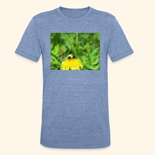 Dandelion Bee - Unisex Tri-Blend T-Shirt