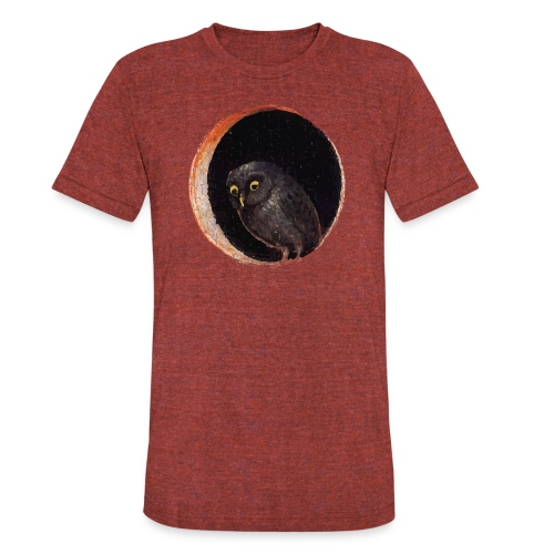 Garden Of Earthly Delights - Unisex Tri-Blend T-Shirt