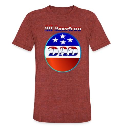 All American Dad - Unisex Tri-Blend T-Shirt
