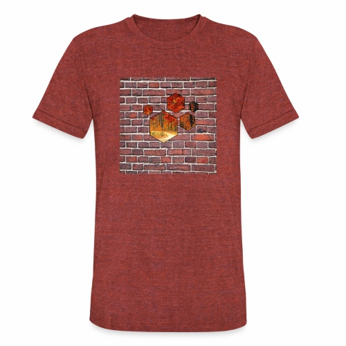 Wallart - Unisex Tri-Blend T-Shirt