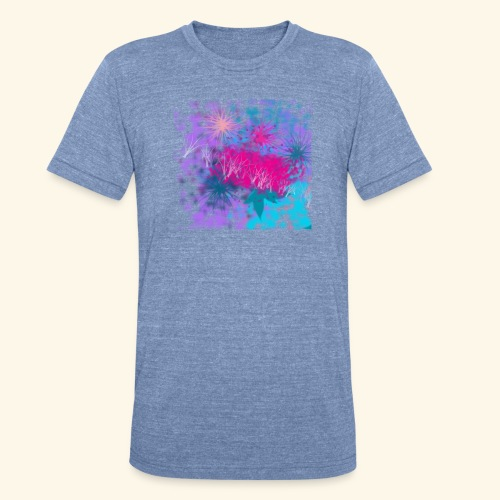 Abstract - Unisex Tri-Blend T-Shirt