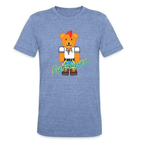 Skinhead Furrrgus - Unisex Tri-Blend T-Shirt